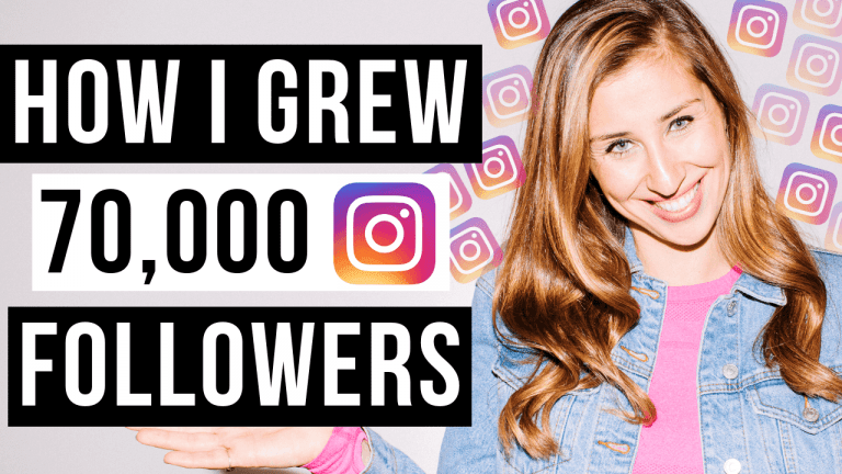 How I grew to 70000 followers on Instagram - Elise Darma