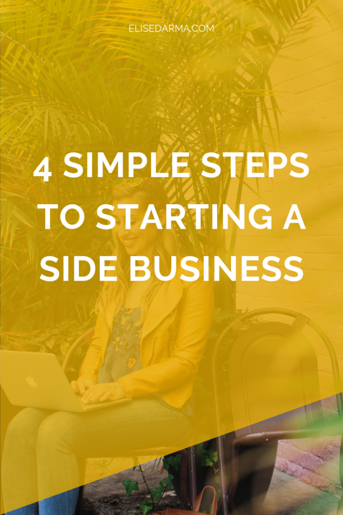 4 simple steps to starting a side business (without quitting your day job)