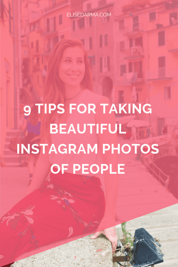 9 tips for taking beautiful Instagram photos of people