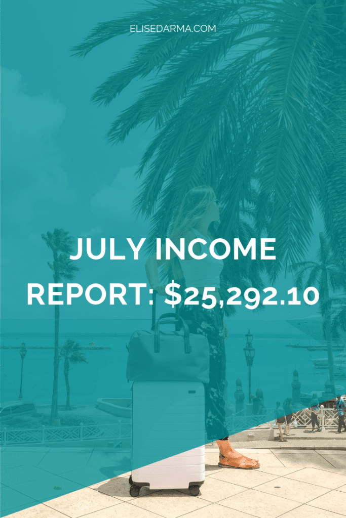 July 2018 income report $25,292.10 elise darma.png