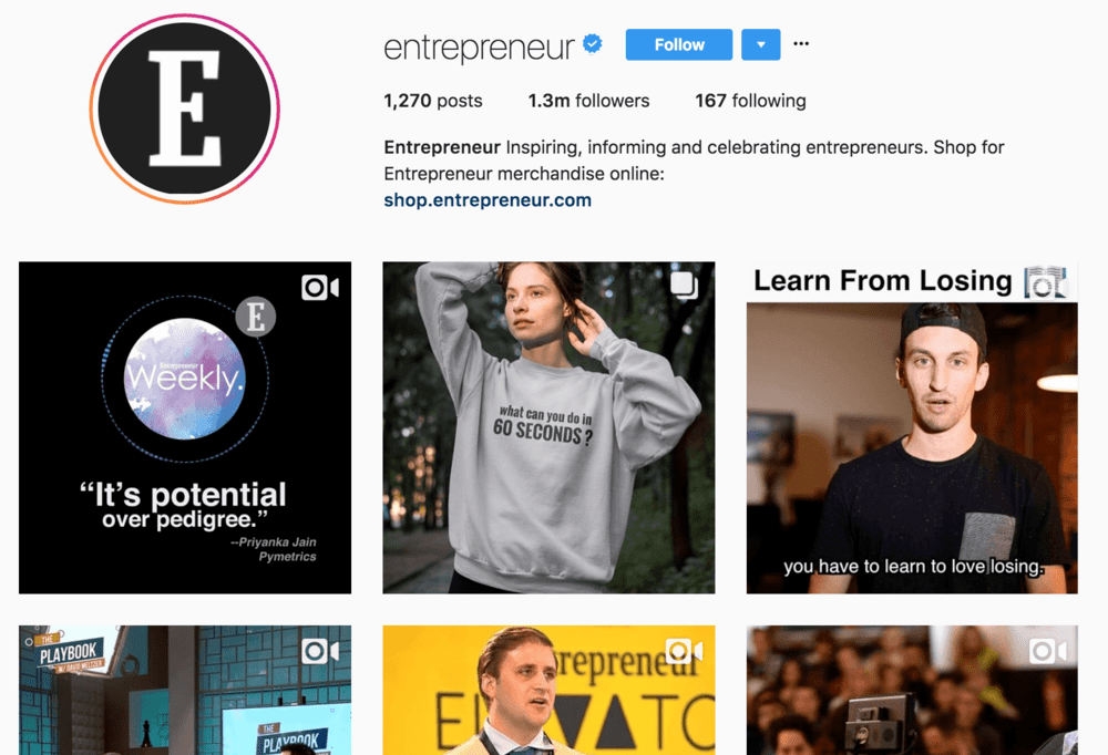entrepreneur+instagram