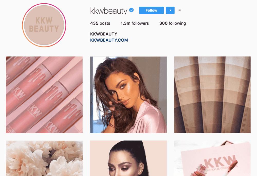 kkwbeauty+instagram