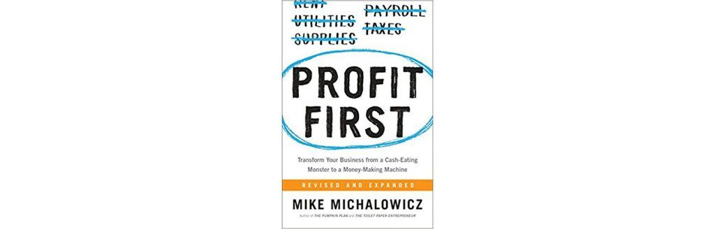 profit first book by Mike Michalowicz