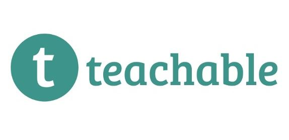 Teachable logo in turquoise