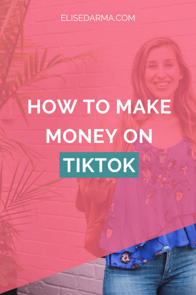 Tiktok'ta nasıl para kazanılır