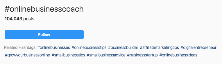 How to use hashtags on Instagram for business - Elise Darma