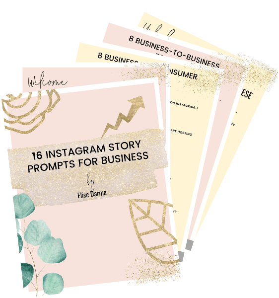 free instagram story prompts for business